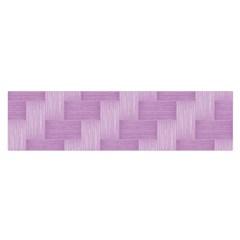 Purple Pattern Satin Scarf (oblong) by Valentinaart