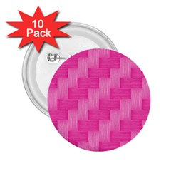 Pink Pattern 2 25  Buttons (10 Pack)  by Valentinaart