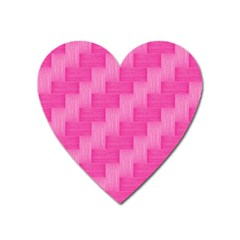 Pink Pattern Heart Magnet by Valentinaart