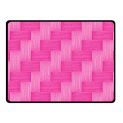 Pink Pattern Fleece Blanket (small) by Valentinaart