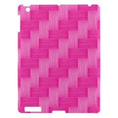 Pink Pattern Apple Ipad 3/4 Hardshell Case by Valentinaart