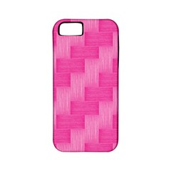 Pink Pattern Apple Iphone 5 Classic Hardshell Case (pc+silicone) by Valentinaart