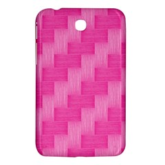 Pink Pattern Samsung Galaxy Tab 3 (7 ) P3200 Hardshell Case  by Valentinaart