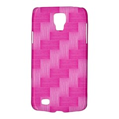 Pink Pattern Galaxy S4 Active by Valentinaart