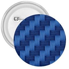 Blue Pattern 3  Buttons by Valentinaart