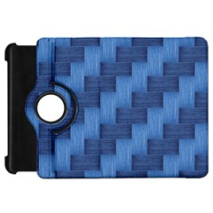 Blue Pattern Kindle Fire Hd 7  by Valentinaart