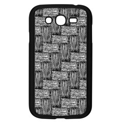 Gray Pattern Samsung Galaxy Grand Duos I9082 Case (black) by Valentinaart