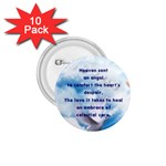 Heaven Angel Embrace Button - 1.75  Button (10 pack)