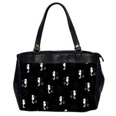 Pattern Office Handbags (2 Sides)  by Valentinaart