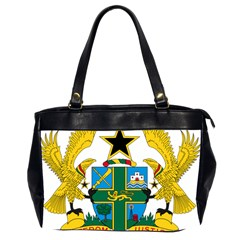 Coat Of Arms Of Ghana Office Handbags (2 Sides)  by abbeyz71