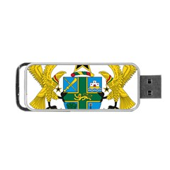 Coat Of Arms Of Ghana Portable Usb Flash (one Side) by abbeyz71