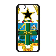 Coat Of Arms Of Ghana Apple Iphone 5c Seamless Case (black) by abbeyz71