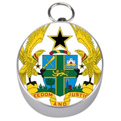 Coat Of Arms Of Ghana Silver Compasses by abbeyz71