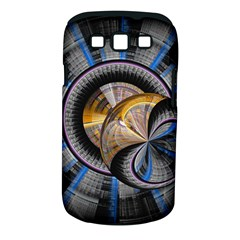 Fractal Tech Disc Background Samsung Galaxy S Iii Classic Hardshell Case (pc+silicone) by Simbadda