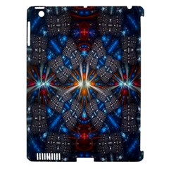 Fancy Fractal Pattern Apple Ipad 3/4 Hardshell Case (compatible With Smart Cover) by Simbadda