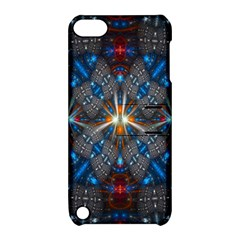 Fancy Fractal Pattern Apple Ipod Touch 5 Hardshell Case With Stand by Simbadda