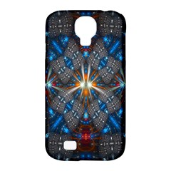Fancy Fractal Pattern Samsung Galaxy S4 Classic Hardshell Case (pc+silicone) by Simbadda