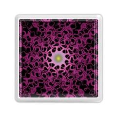 Cool Fractal Memory Card Reader (square)  by Simbadda