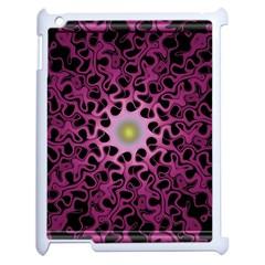 Cool Fractal Apple Ipad 2 Case (white) by Simbadda