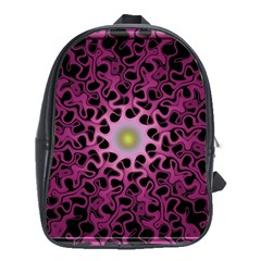 Cool Fractal School Bags (xl)  by Simbadda