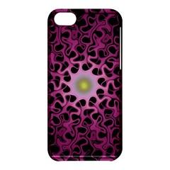 Cool Fractal Apple Iphone 5c Hardshell Case by Simbadda