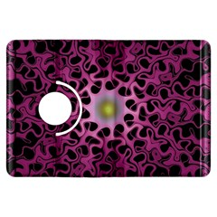 Cool Fractal Kindle Fire Hdx Flip 360 Case by Simbadda