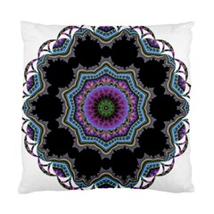 Fractal Lace Standard Cushion Case (two Sides) by Simbadda