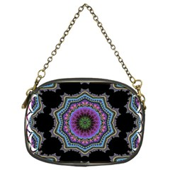 Fractal Lace Chain Purses (two Sides)  by Simbadda