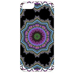 Fractal Lace Apple Iphone 5 Classic Hardshell Case by Simbadda