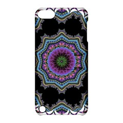 Fractal Lace Apple Ipod Touch 5 Hardshell Case With Stand by Simbadda