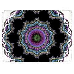 Fractal Lace Samsung Galaxy Tab 7  P1000 Flip Case by Simbadda