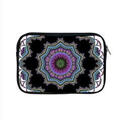 Fractal Lace Apple Macbook Pro 15  Zipper Case by Simbadda