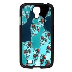 Decorative Fractal Background Samsung Galaxy S4 I9500/ I9505 Case (black) by Simbadda