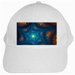 Fractal Star White Cap by Simbadda