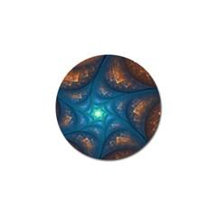 Fractal Star Golf Ball Marker (4 Pack) by Simbadda
