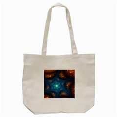 Fractal Star Tote Bag (cream) by Simbadda