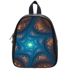 Fractal Star School Bags (small)  by Simbadda