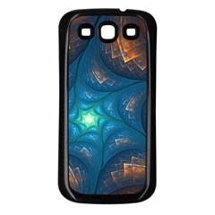 Fractal Star Samsung Galaxy S3 Back Case (black)