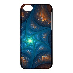 Fractal Star Apple Iphone 5c Hardshell Case by Simbadda
