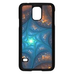 Fractal Star Samsung Galaxy S5 Case (Black)