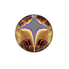 Symmetric Fractal Hat Clip Ball Marker (4 Pack) by Simbadda