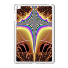 Symmetric Fractal Apple Ipad Mini Case (white) by Simbadda