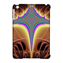 Symmetric Fractal Apple Ipad Mini Hardshell Case (compatible With Smart Cover) by Simbadda
