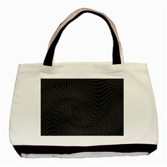 Distorted Net Pattern Basic Tote Bag by Simbadda