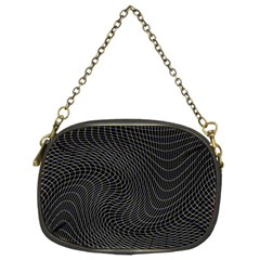 Distorted Net Pattern Chain Purses (two Sides)  by Simbadda