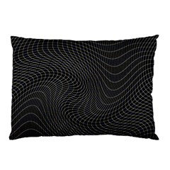 Distorted Net Pattern Pillow Case (two Sides) by Simbadda