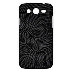 Distorted Net Pattern Samsung Galaxy Mega 5 8 I9152 Hardshell Case  by Simbadda