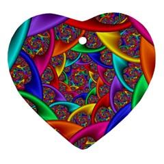 Color Spiral Ornament (heart) by Simbadda