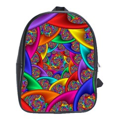 Color Spiral School Bags(large)  by Simbadda