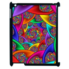 Color Spiral Apple Ipad 2 Case (black) by Simbadda
